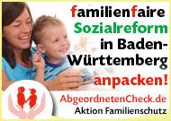 Familienfaire Sozialreform in Baden-Württemberg anpacken