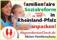 Familienfaire Sozialreform in Rheinland-Pfalz anpacken
