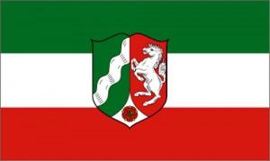 Flagge NRW